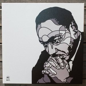 BAIT おもちゃグッズ Toys and Collectibles BAIT x David Flores 24 Inch Canvas - MLK|fermart-hobby