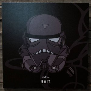 スターウォーズ おもちゃグッズ Toys and Collectibles BAIT x David Flores Star Wars 24 Inch Canvas - Shadow Storm Trooper|fermart-hobby