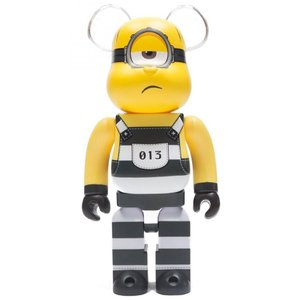 ベアブリック Bearbrick フィギュア despicable me 3 minion mel 400% bearbrick figure yellow|fermart-hobby