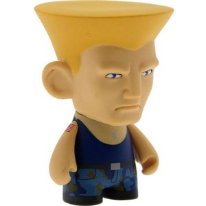 ストリートファイター キッドロボット Kidrobot Kidrobot Street Fighter 3 Inch Mini Series Guile Figure - 1/20 Ratio|fermart-hobby