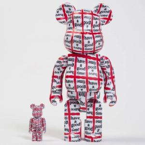 ベアブリック Bearbrick フィギュア have a good time 100% 400% bearbrick figure set white|fermart-hobby