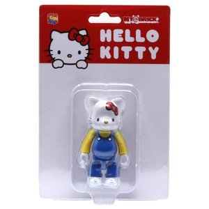 ハローキティ Hello Kitty フィギュア hello kitty 100% nyabrick figure blue|fermart-hobby