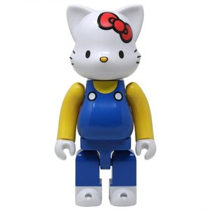 ハローキティ Hello Kitty フィギュア hello kitty 400% nyabrick figure blue|fermart-hobby