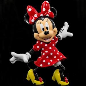 ミニーマウス Minnie Mouse フィギュア herocross hybrid metal figuration #027 diseny minnie mouse in red dress diecast figure red|fermart-hobby