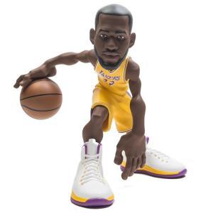 NBA フィギュア iconai small stars nba 2018-2019 lebron james 11 inch figure - lakers gold jersey gold fermart-hobby