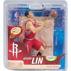 エヌ ビー エー マクファーレントイズ McFarlane Toys McFarlane Toys Jeremy Lin Houston Rockets NBA Figure - Chase Red Uniform|fermart-hobby