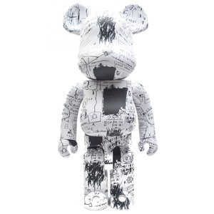 ベアブリック Bearbrick フィギュア jean-michel basquiat #3 1000% bearbrick figure set white fermart-hobby
