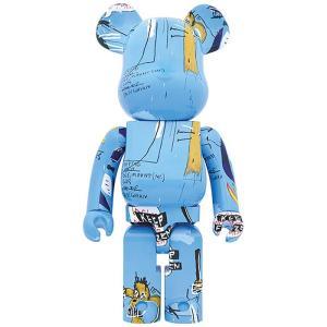 ベアブリック Bearbrick フィギュア jean-michel basquiat #4 1000% bearbrick figure blue fermart-hobby