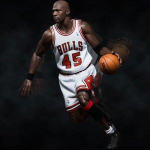 エヌ ビー エー エンターベイ Enterbay NBA x Enterbay Michael Jordan 1/6 Scale 12 Inch Figure - #45 Home Version|fermart-hobby