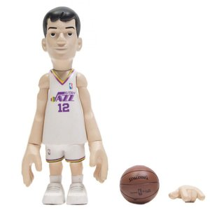 NBA フィギュア x coolrain nba legends utah jazz john stockton figure white fermart-hobby