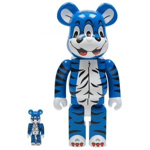 ベアブリック Bearbrick フィギュア kidill bear 100% 400% bearbrick figure set blue|fermart-hobby