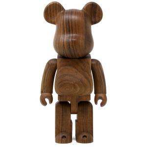 ベアブリック Bearbrick フィギュア karimoku ovangkol 400% bearbrick figure brown fermart-hobby
