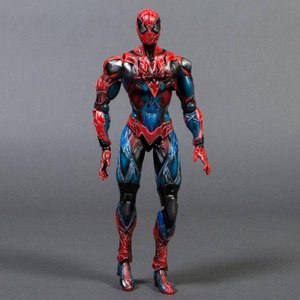 スパイダーマン Square Enix Marvel Universe Variant Play Arts Kai Spider-Man Action Figure|fermart-hobby