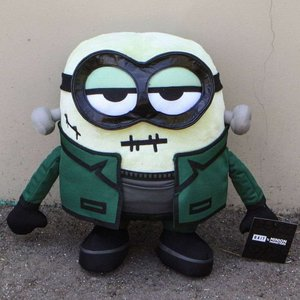 ミニオンズ Minion ぬいぐるみ・人形 x minion monsters frankenbob 12 inch plush green|fermart-hobby