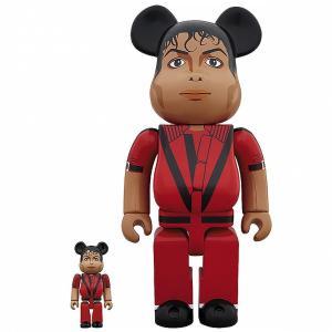マイケル ジャクソン Michael Jackson フィギュア michael jackson thriller red jacket 100% 400% figure set red|fermart-hobby