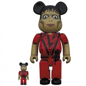 マイケル ジャクソン Michael Jackson フィギュア michael jackson thriller zombie 100% 400% figure set red|fermart-hobby