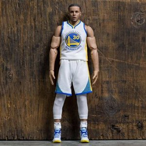エヌビーエー エンターベイ フィギュア・おもちゃ Enterbay NBA x Enterbay Stephen Curry 1/9 Scale 9 Inch Figure|fermart-hobby
