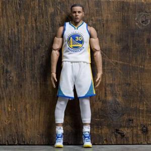 NBA フィギュア nba x stephen curry 1/9 scale 9 inch figure white|fermart-hobby