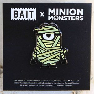 ミニオンズ Minion グッズ x minion monsters mummy pin green|fermart-hobby