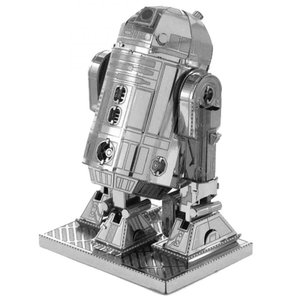 スターウォーズ おもちゃグッズ Toys and Collectibles Fascinations Metal Earth Model Kit - Star Wars R2-D2 (silver)|fermart-hobby