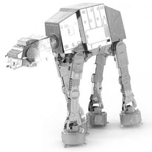 スターウォーズ おもちゃグッズ Toys and Collectibles Fascinations Metal Earth Model Kit - Star Wars AT-AT (silver)|fermart-hobby