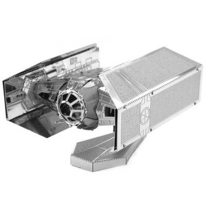 スターウォーズ おもちゃグッズ Toys and Collectibles Fascinations Metal Earth Model Kit - Star Wars Darth Vader Tie Fighter|fermart-hobby