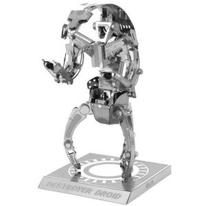 スターウォーズ おもちゃグッズ Toys and Collectibles Fascinations Metal Earth Model Kit - Star Wars Destroyer Droid (silver)|fermart-hobby