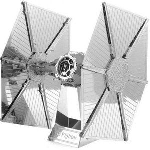 スターウォーズ おもちゃグッズ Toys and Collectibles Fascinations Metal Earth Model Kit - Star Wars Tie Fighter (silver)|fermart-hobby