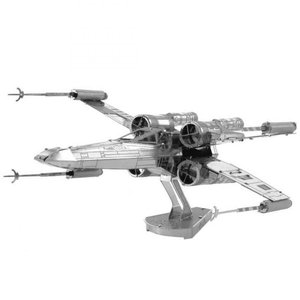 スターウォーズ おもちゃグッズ Toys and Collectibles Fascinations Metal Earth Model Kit - Star Wars X-wing Fighter (silver)|fermart-hobby