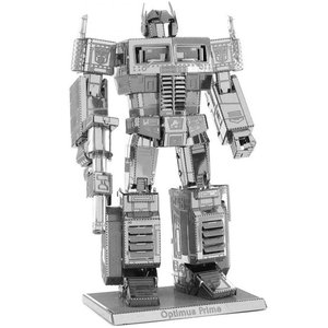 トランスフォーマー おもちゃグッズ Toys and Collectibles Fascinations Metal Earth Model Kit - Transformers Optimus Prime (silver)|fermart-hobby