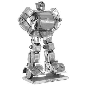 トランスフォーマー おもちゃグッズ Toys and Collectibles Fascinations Metal Earth Model Kit - Transformers Bumblebee (silver)|fermart-hobby