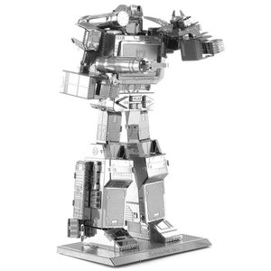 トランスフォーマー おもちゃグッズ Toys and Collectibles Fascinations Metal Earth Model Kit - Transformers Soundwave (silver)|fermart-hobby
