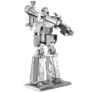 トランスフォーマー おもちゃグッズ Toys and Collectibles Fascinations Metal Earth Model Kit - Transformers Megatron (silver)|fermart-hobby