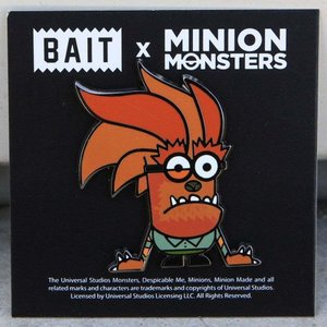 ミニオンズ Minion グッズ x minion monsters werewolf pin brown|fermart-hobby