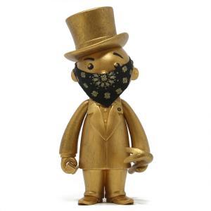 モノポリー Rich Uncle Pennybags フィギュア x monopoly x switch collectibles mr pennybags 7 inch vinyl figure - gold edition|fermart-hobby