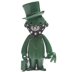 モノポリー Rich Uncle Pennybags フィギュア x monopoly x switch collectibles mr pennybags 7 inch vinyl figure - olive edition|fermart-hobby