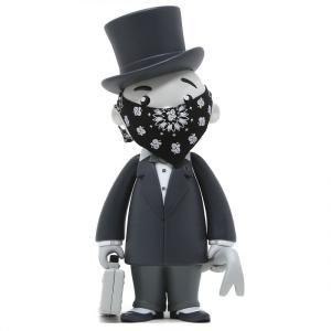 モノポリー Rich Uncle Pennybags フィギュア x monopoly x switch collectibles mr pennybags 7 inch vinyl figure - grey edition|fermart-hobby
