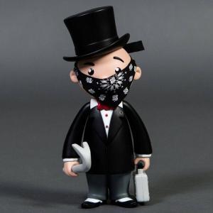モノポリー Rich Uncle Pennybags フィギュア モノポリー ビニールフィギュア bait x monopoly x mr pennybags 7 inch vinyl figure - standard edition black|fermart-hobby