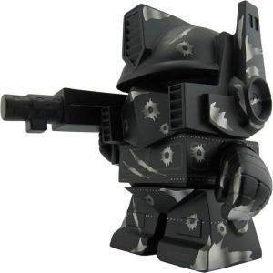 トランスフォーマー Transformers フィギュア sdcc exclusive transformers optimus prime 8 inch vinyl collectible figure - silver bullet black|fermart-hobby