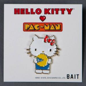 サンリオ Sanrio グッズ x sanrio x pac-man hello kitty pin white|fermart-hobby