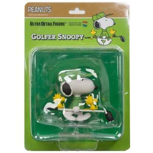 スヌーピー Snoopy フィギュア シリーズ8 udf peanuts series 8 golfer snoopy ultra detail figure green|fermart-hobby