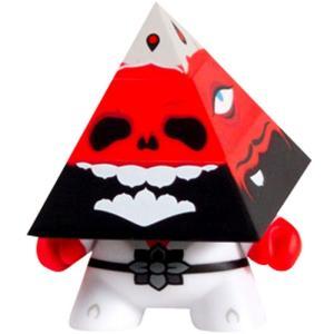キッドロボット キッドロボット Kidrobot Kidrobot Pyramidun Dunny 3 Inch Figure - Andrew Bell|fermart-hobby