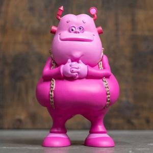 ロン イングリッシュ Ron English フィギュア ビニールフィギュア ron english franken fat 8.5 vinyl figure pink|fermart-hobby