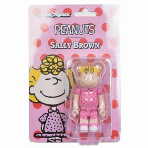 ベアブリック Bearbrick フィギュア peanuts sally brown 100% bearbrick figure pink fermart-hobby