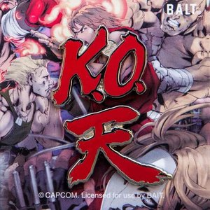 ストリートファイター Street Fighter グッズ x street fighter k.o. akuma ten 2 pins red|fermart-hobby