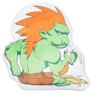 ストリートファイター Street Fighter グッズ 枕 x street fighter blanka pillow green|fermart-hobby