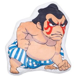 ストリートファイター Street Fighter グッズ 枕 x street fighter e. honda pillow tan|fermart-hobby