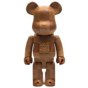 ベアブリック Bearbrick フィギュア x sync x house industries karimoku chess 400% bearbrick figure brown|fermart-hobby