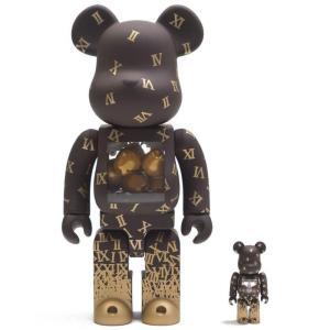 ベアブリック Bearbrick フィギュア shareef 2 100% 400% bearbrick figure set brown fermart-hobby