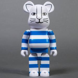 ベアブリック Bearbrick フィギュア x sync x lisa larson mikey 400% bearbrick blue fermart-hobby